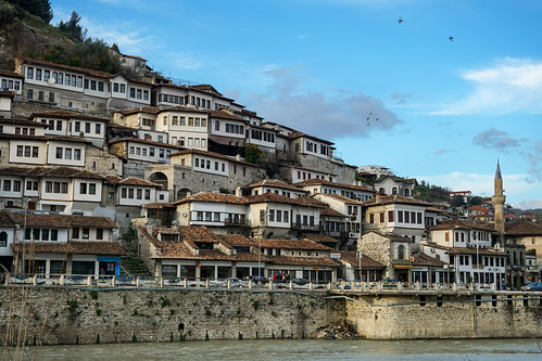 world old city houses windows roof white house building heritage history tourism up architecture river town ancient europe flickr day cityscape village close view traditional hill culture landmark architectural historic unesco same ottoman albania scape thousand turkish easterneurope settlement sites balkan berat 2016 pulcheriopolis