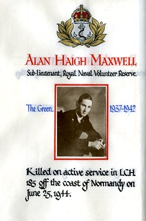 Maxwell, Alan Haigh (1924-1944) | by sherborneschoolarchives