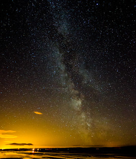 Milky Way at Holy Island Causeway.   by Jonathan Combe (Thank you for 400,000 views!)