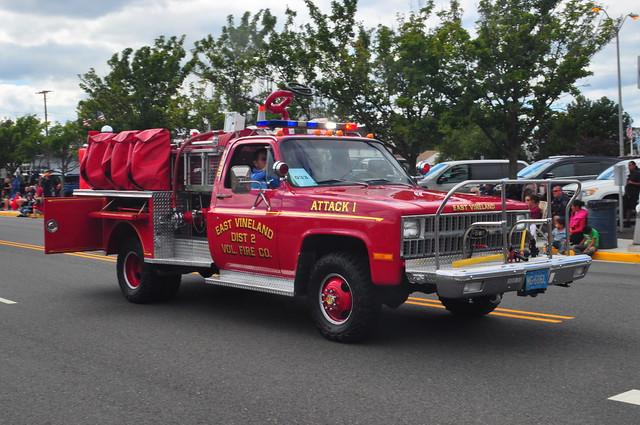 East Vineland Volunteer Fire Department Mini Pumper 12-20 Attack 1