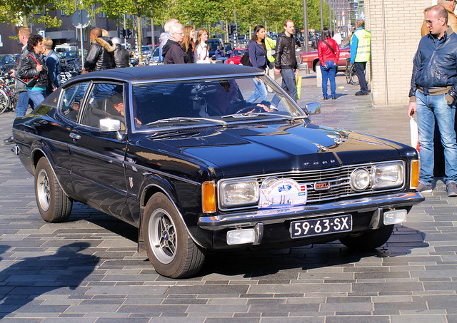 1972 Ford Taunus 2000 Coupe,  Midland Classic Show - Almere