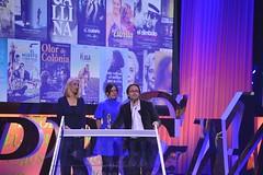 Alberto Marini, Belén Sánchez i Pilar Benito. Premi Gaudí a la Millor Pel·lícula en VO no catalana per