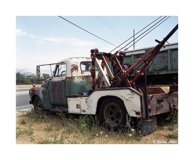 Wrecked Wrecker