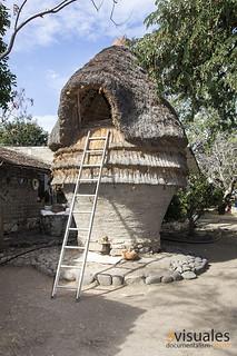 El cuexcomate de la casa de doña Lorenza en Chalcatzingo