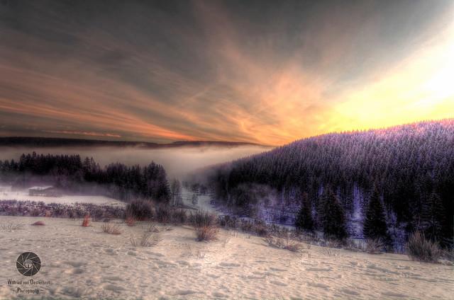 Winterberg at Dawn
