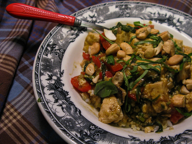 Stir Fry with Restaurant China