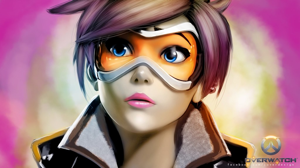 Tracer Overwatch Hd Wallpaper Download Tracer Overwatch Hd