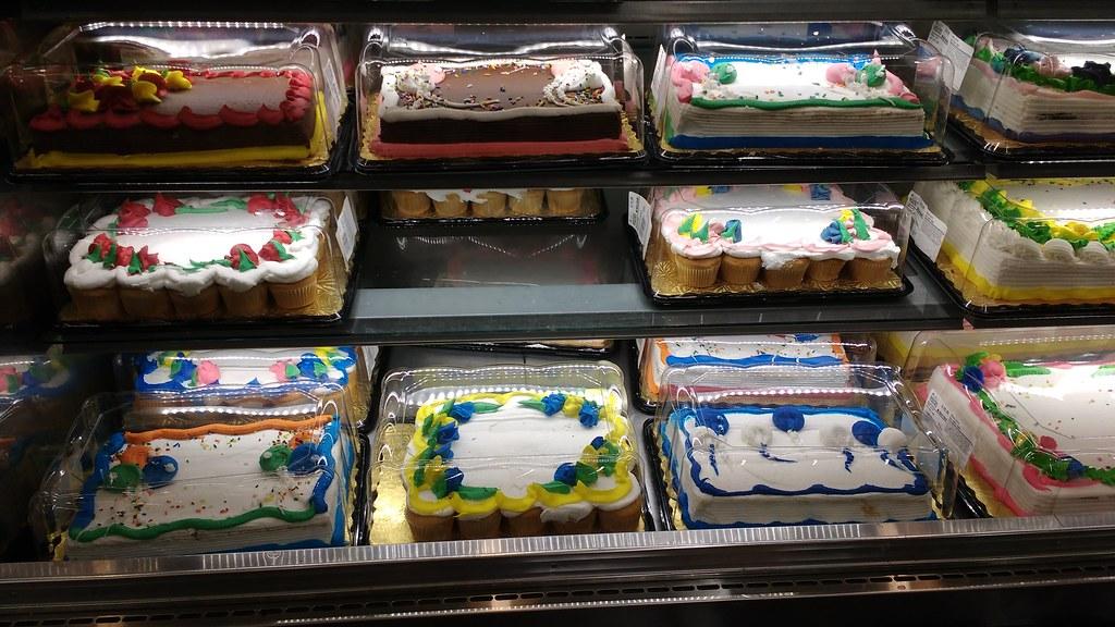 Brilliant Birthday Cakes Rouses Supermarket David Rodger Flickr Funny Birthday Cards Online Hetedamsfinfo