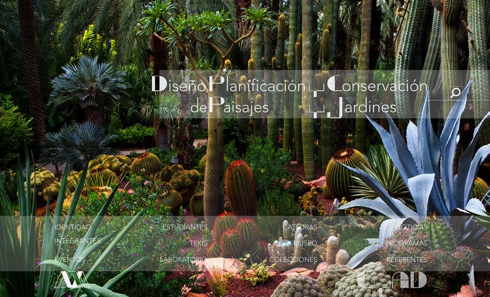 Diseño Planificación conservación de Paisajes y Jardines