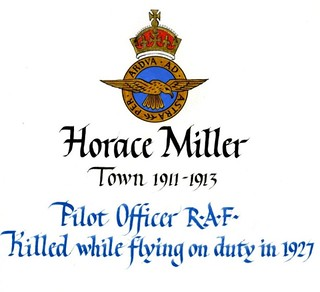 Miller, Horace (1897-1927) | by sherborneschoolarchives