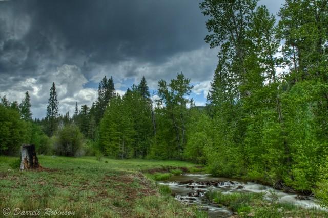 Summer Storm at Cold Creek