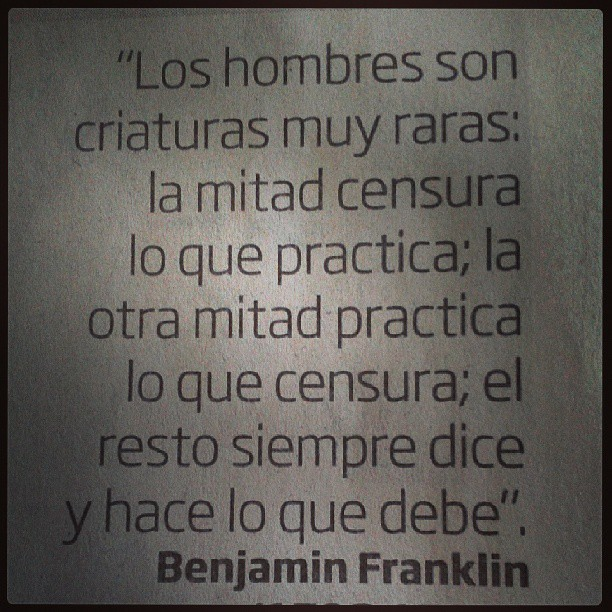 Frase Sabia De Benjamín Franklin Benjaminfranklin Money