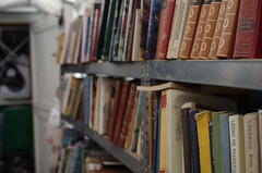 secondhand books, Stavern