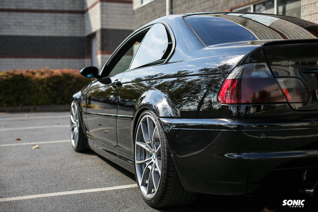 Bmw E46 M3 With 19 Quot Ms356 Wheels 19x8 5 19x9 5 Bmw E46