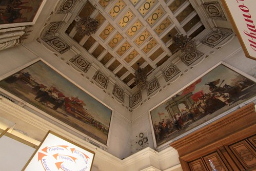 Soviet realist paintings inside the pavilion | by Marcus Wong from Geelong