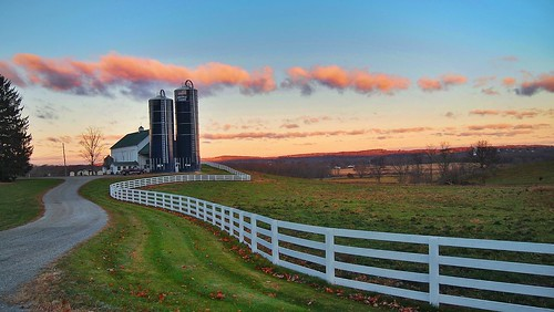 morning newyork colors beautiful clouds sunrise landscape farm olympus warwickny bellvale