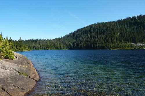 Lake Helen Mackenzie, Strathcona Provincial Park, Central Vancouver Island, British Columbia, Canada