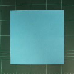 การพับกระดาษเป็นรูปตัวเม่นแคระ (Origami Hedgehog) 001