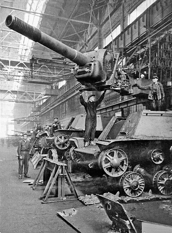 Russe SU-152