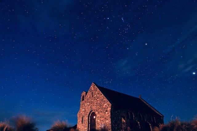 #star #night #tekapo #sky