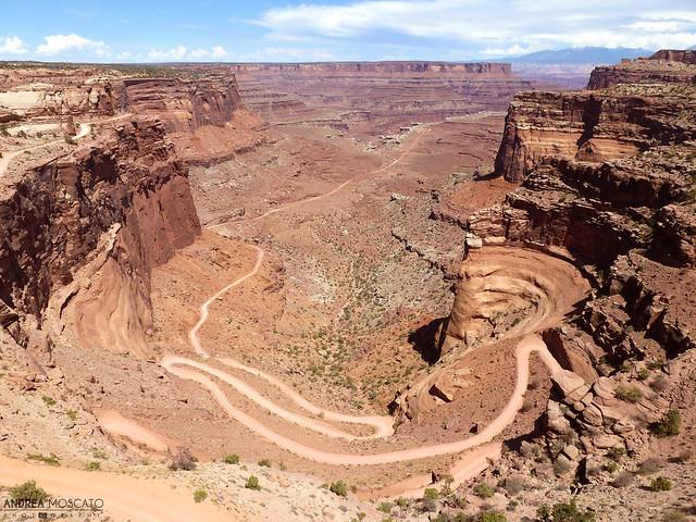 Shafer Canyon Road - Canyonlands National Park, Utah