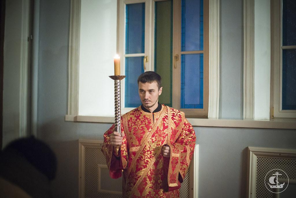 7 февраля 2015, Всенощное бдение накануне Недели о блудном сыне / 7 February 2015, Vigil on the eve of the Sunday of the Prodigal Son