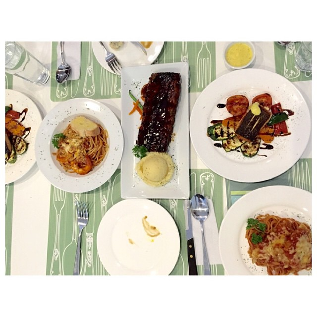 Saturday Lunch Happened At The Green Pig's Kitchen. Visit