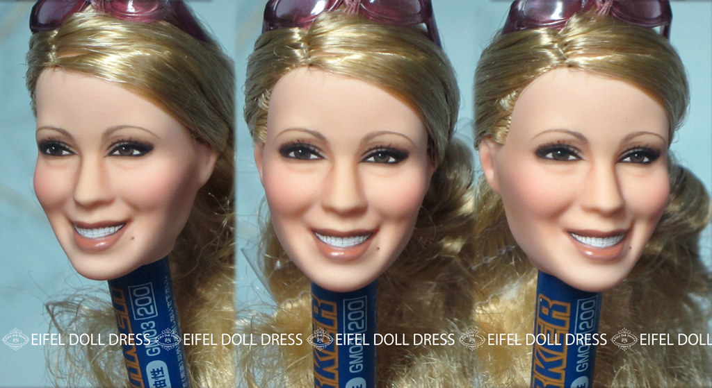 Repaint By Eifel Barbie Hilary Duff Transform To Mariah Ca Flickr