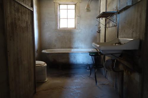 Humberstone Salpeterwerke - Badezimmer eines Hauses