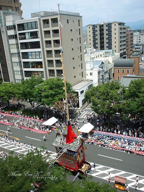 京都 祇園祭 山鉾巡行2013 *月鉾