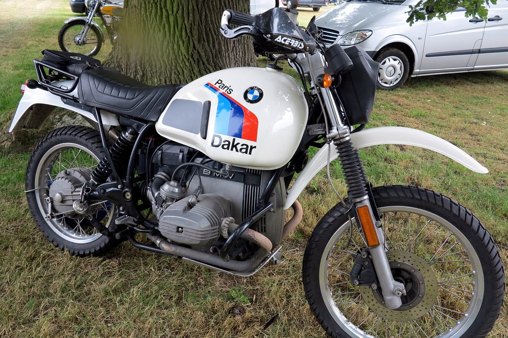 B M W R80gs Paris Dakar B M W R80gs Paris Dakar At The Flickr