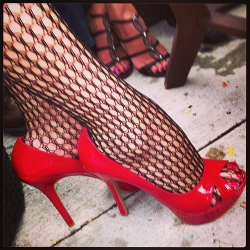 Killing it!  Red Shoes with Citlalin at Paula's birthday party | by Tatiana12