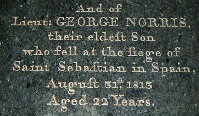fell at the siege of Saint Sebastian