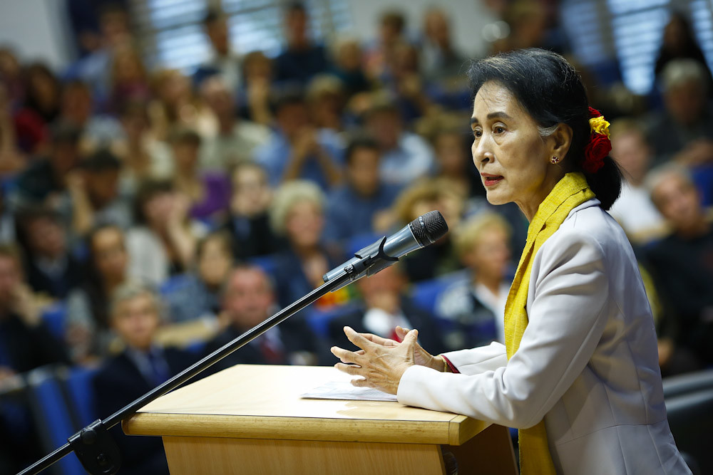 Daw Aung San Suu Kyi on politics and education at Universi… | Flickr