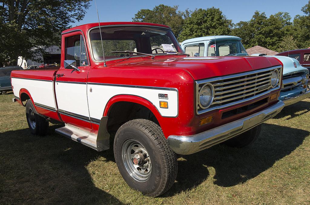 International 200 4x4 Pickup | Photo taken at the Nittany An