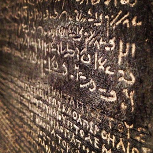 The Rosetta stone. | by Design By Zouny