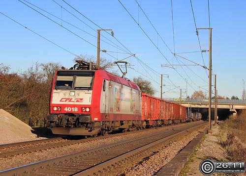 CFL 4018, Livange 26.11.2013 | by Trainspotting-Wiki