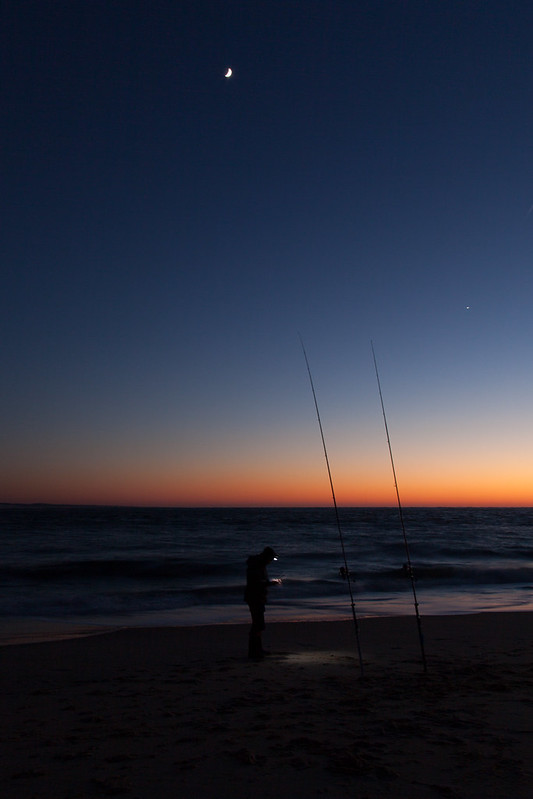 https://www.twin-loc.fr Cap Ferret - Arcachon - Océan Atlantique - Picture Image Photography - Moon and sunset - Lune et coucher de soleil