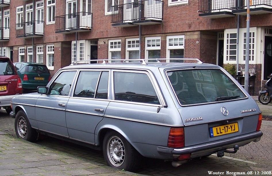 Mercedes W123 300TD Turbo Diesel 1984 | Wouter Bregman | Flickr