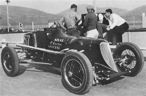 Atlas Chrome Spl (Henry Puckett) - at Legion Ascot c 1935
