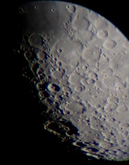 Moon Feb 8th, sunshine at Clavius and Tycho