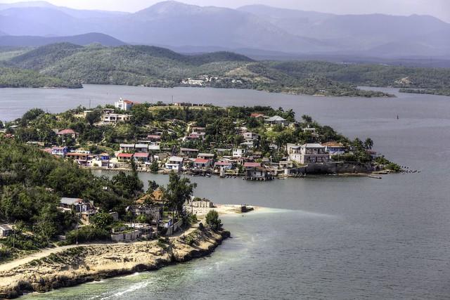 Cayo Granma Village, from Castillo del Morro