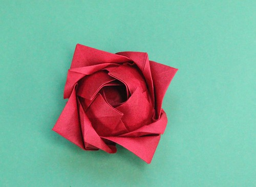 Simple Rose | by origami_8