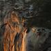 Horsetail Fall - 2015 Closeup by Rick Whitacre