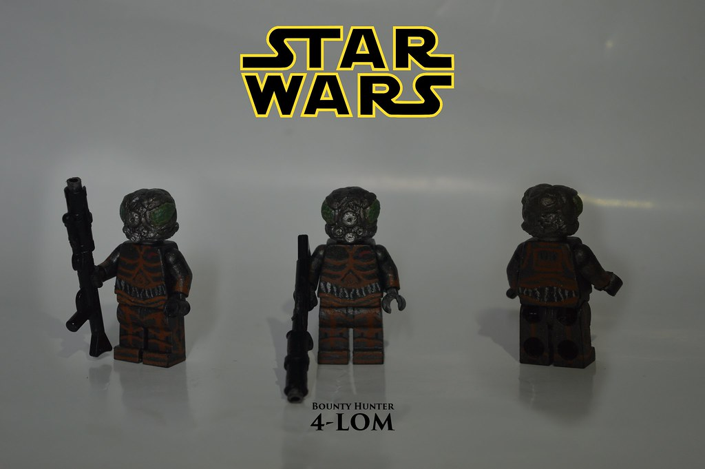 4 Lom 4 Lom A Reprogrammed Protocol Droid One Of The Gre Flickr