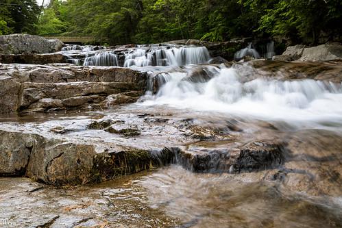 waterfall newengland newhampshire nh jackson jacksonfalls