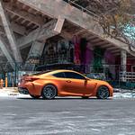 Orange Lexus RCF on Velgen Wheels VMB7 Matte Gunmetal 20x9 & 20x10.5
