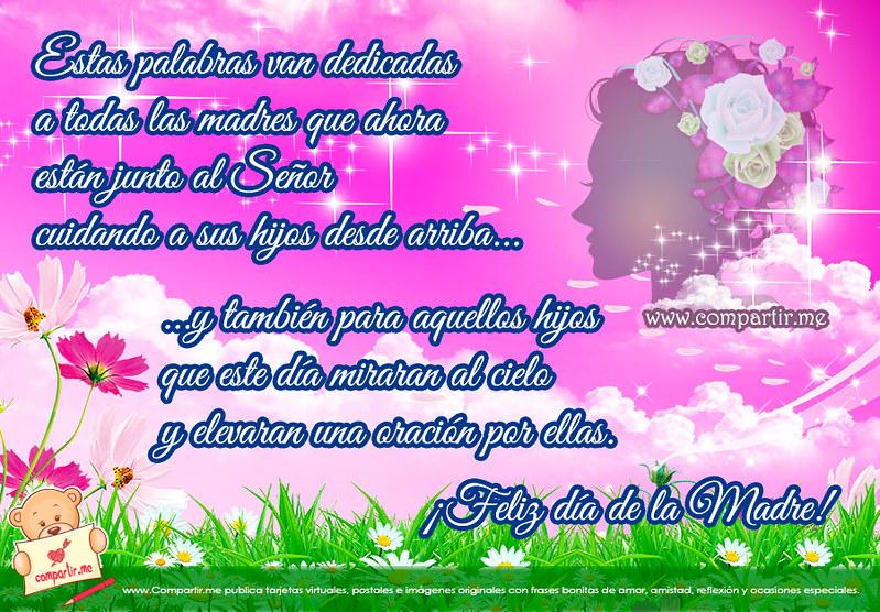 Frases De Amor Mensaje Para Una Madre En El Cielo Por El