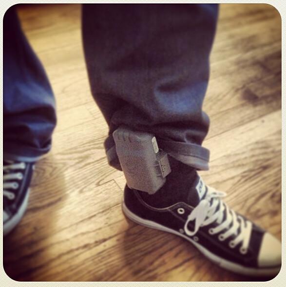 House Arrest Ankle Bracelet Cali Life Chucks Omenz Music Flickr