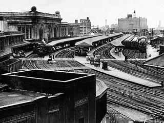 Union Station, 1948  Albany NY 1940s